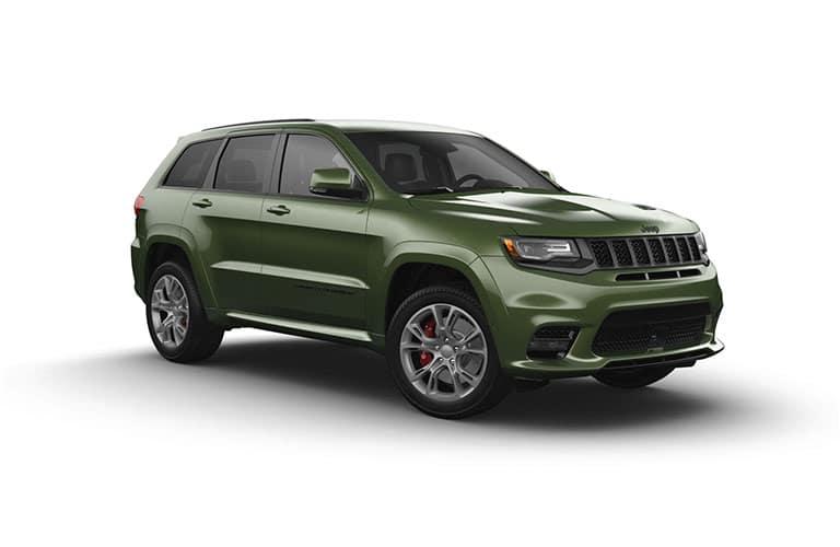 Green Metallic Grand Cherokee