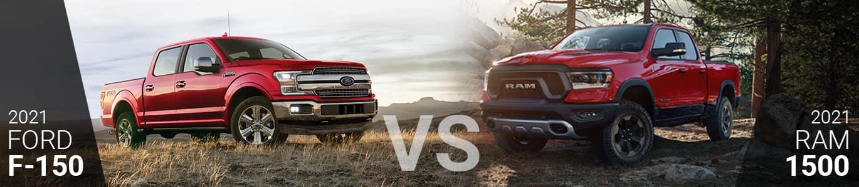Ford F-150 vs RAM 1500 Comparison