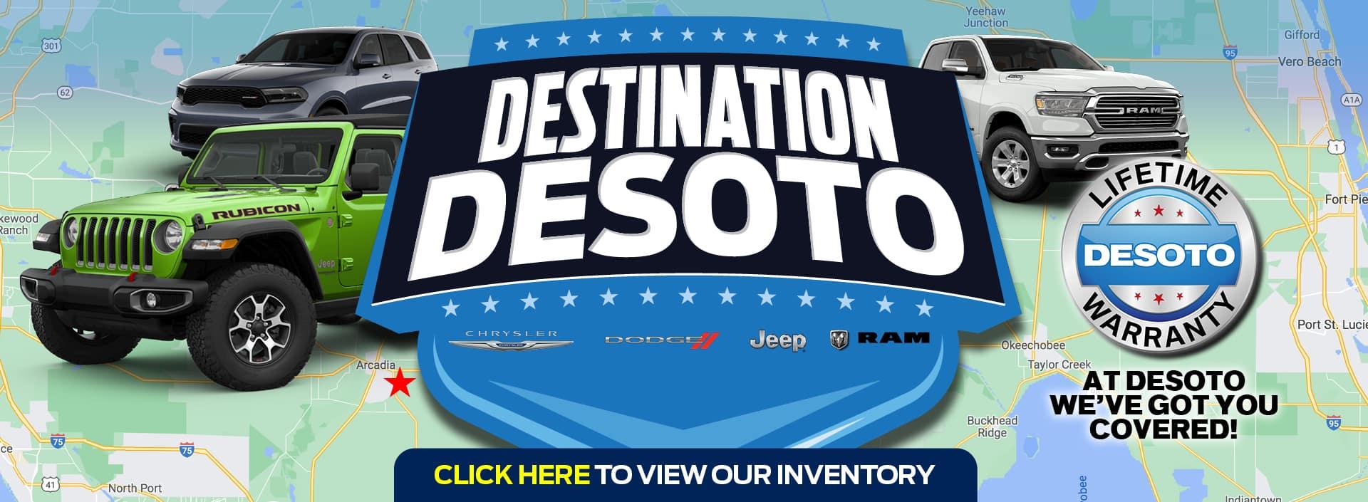 Destination DESOTO