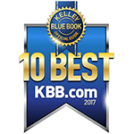 2017 Kelley Blue Book 10 Best Award