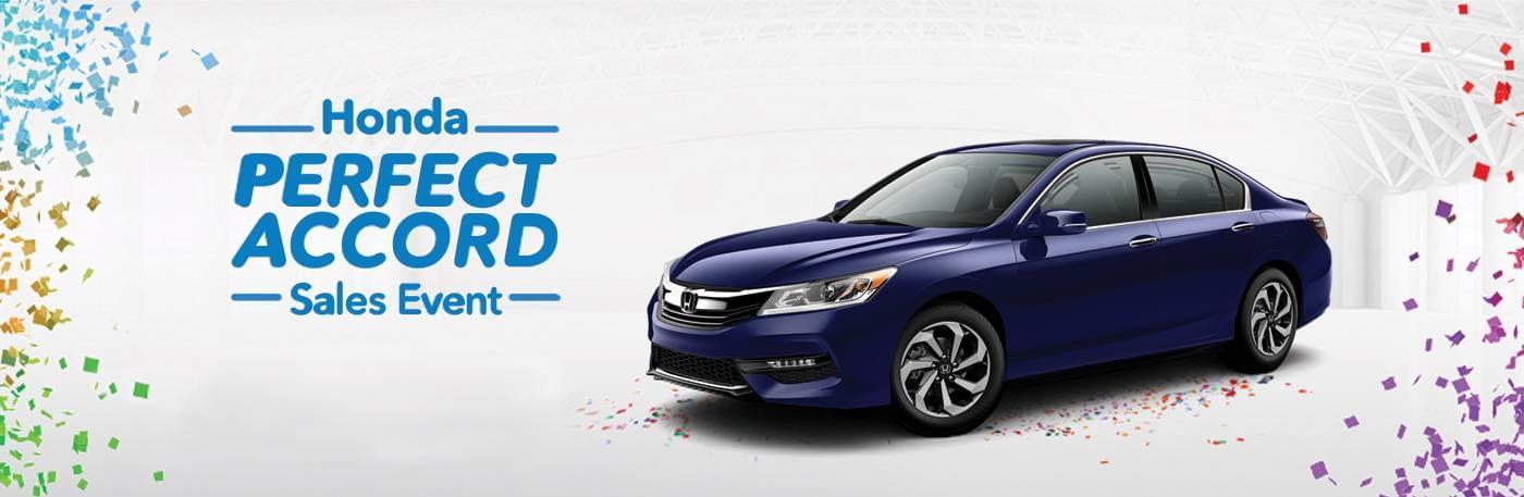 Detroit Area Honda Perfect Accord Sales Event