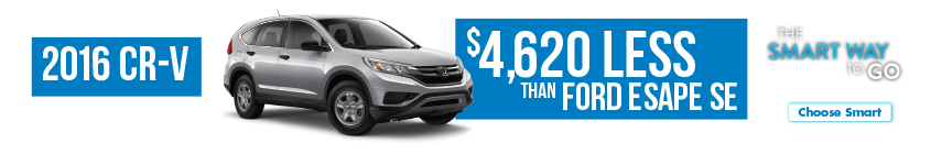 Detroit Area Honda CR-V Smart Way To Go