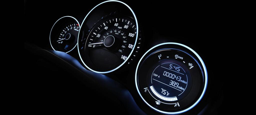 2017 Honda HR-V AWD Gauges