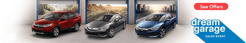 Detroit Area Honda Dream Garage Sales Event