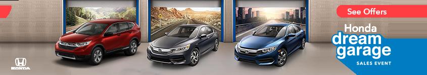 Detroit Area Honda Dream Garage Sales Event