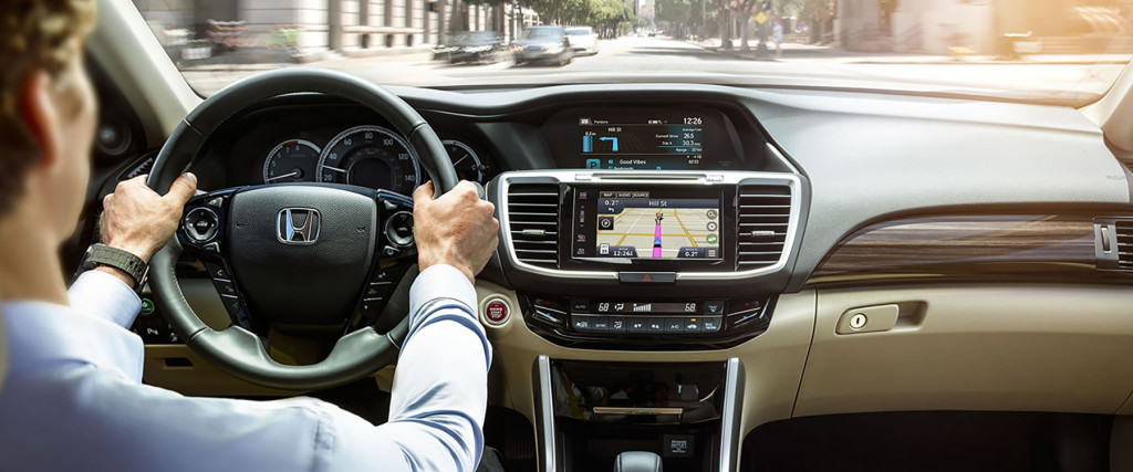 2017 Honda Accord Navigation Slider 2