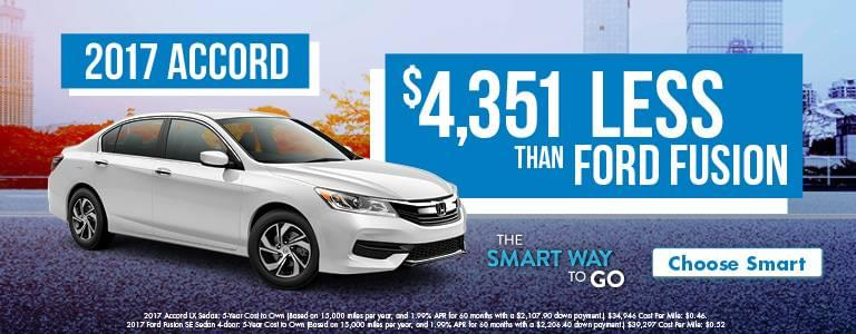 Detroit Area Honda Accord Smart Way To Go