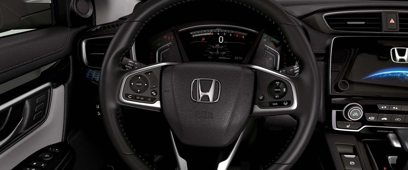 2017 Honda CR-V Steering Wheel and Memory Buttons