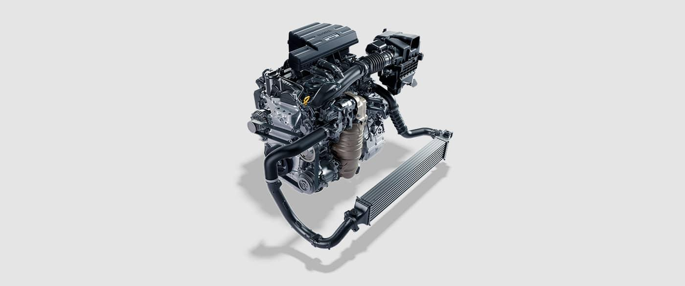 2017 Honda CR-V Turbo charged engine