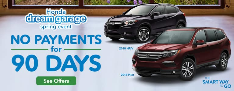 Detroit Area Honda Dream Garage 90-Day Deferment