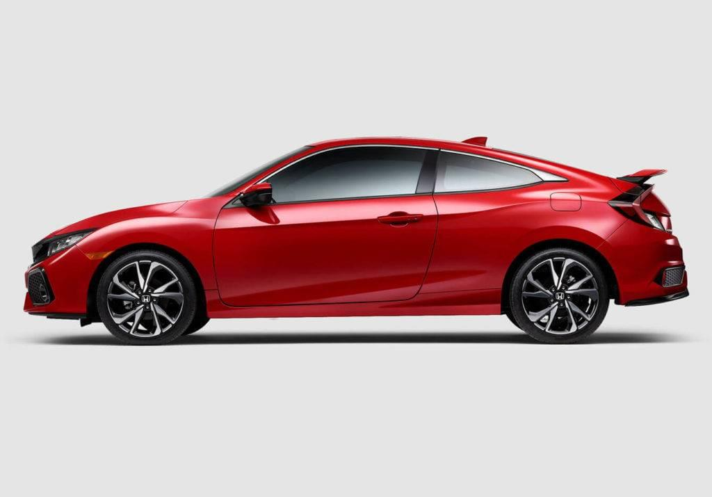 2017 Honda Civic Si Coupe Exterior Side Profile Red