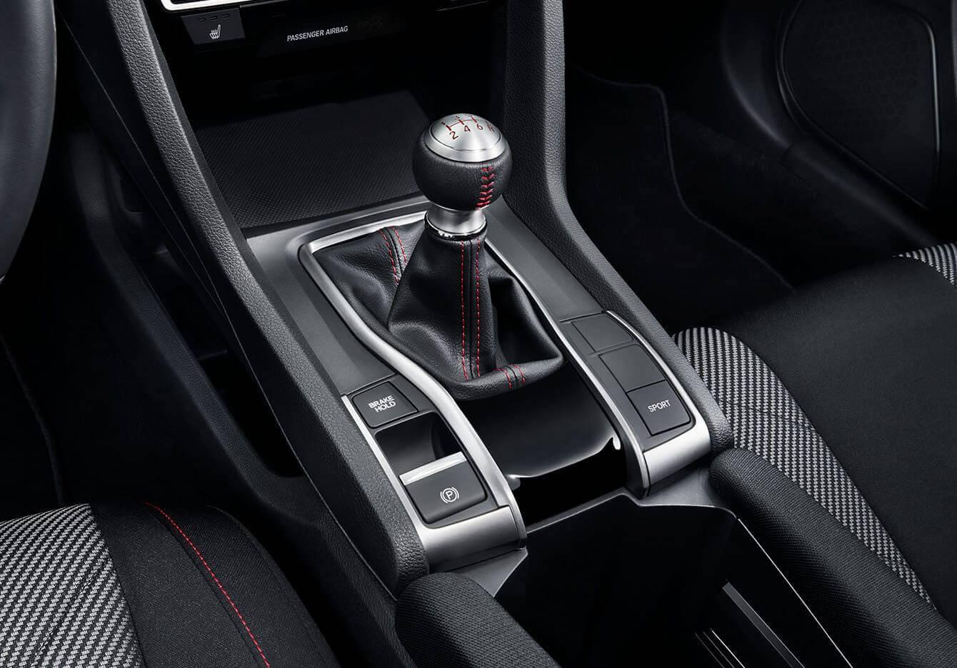 2017 Honda Civic Si Sedan Transmission