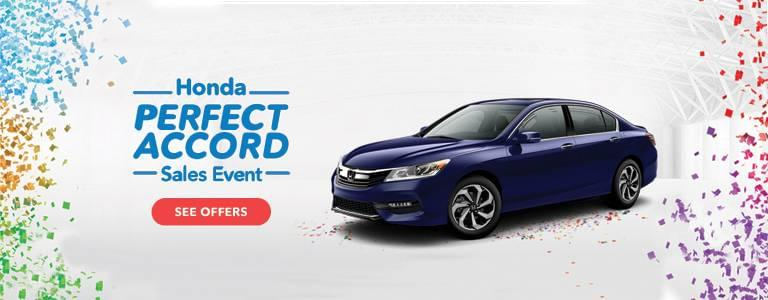Detroit Area Honda Perfect Accord Sales Event