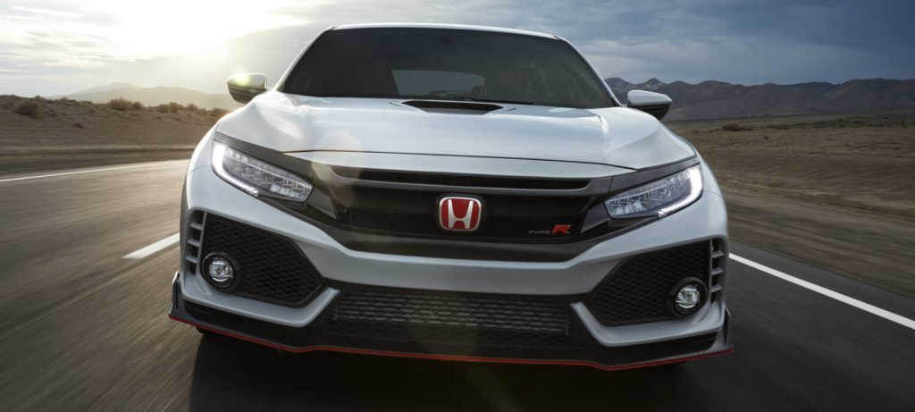 2017 Honda Civic Type R Exterior Front Grille