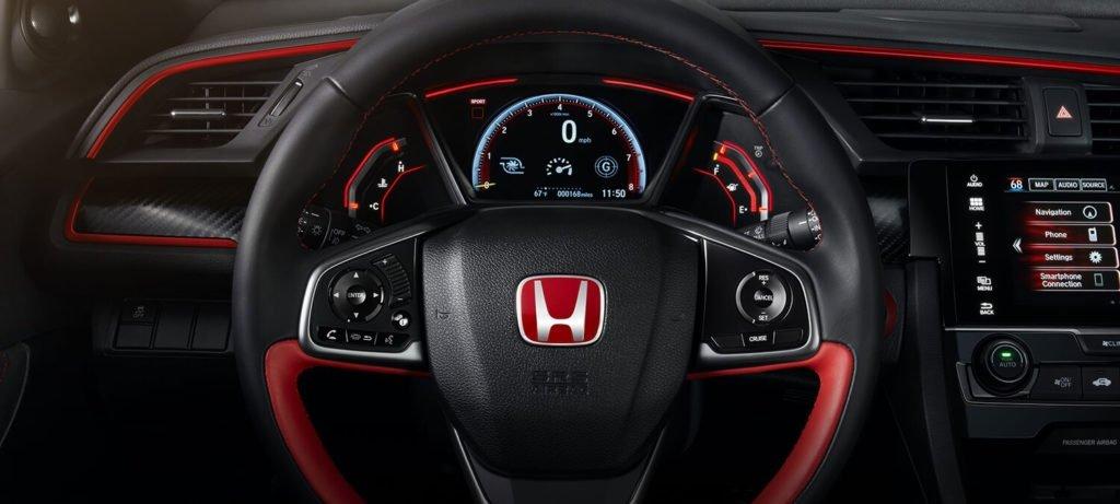 2017 Honda Civic Type R Interior Steering Wheel