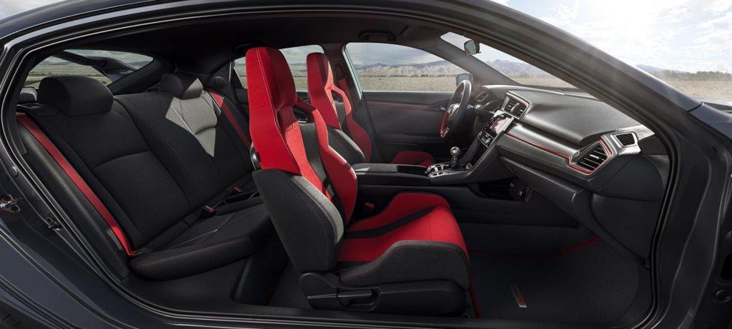2017 Honda Civic Type R Interior Side Profile
