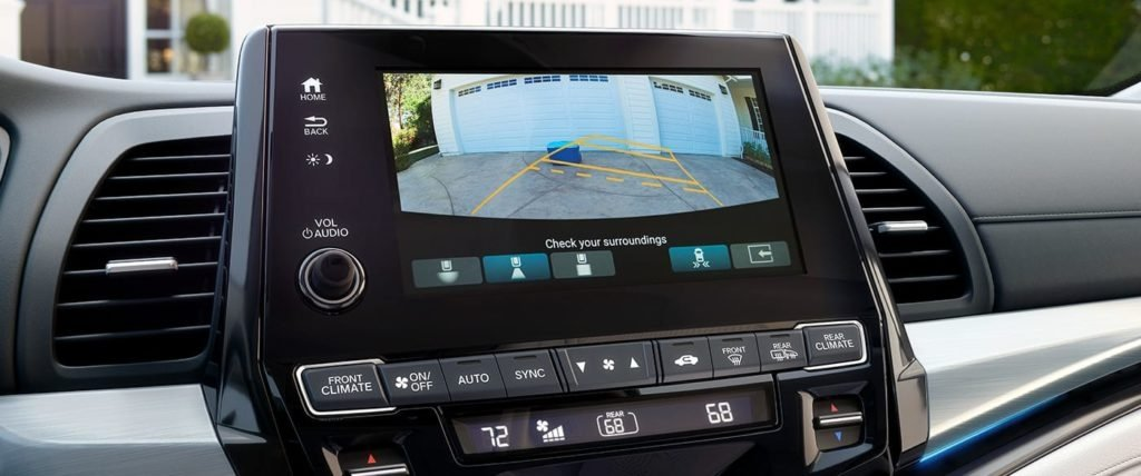 2018 Honda Odyssey Touchscreen