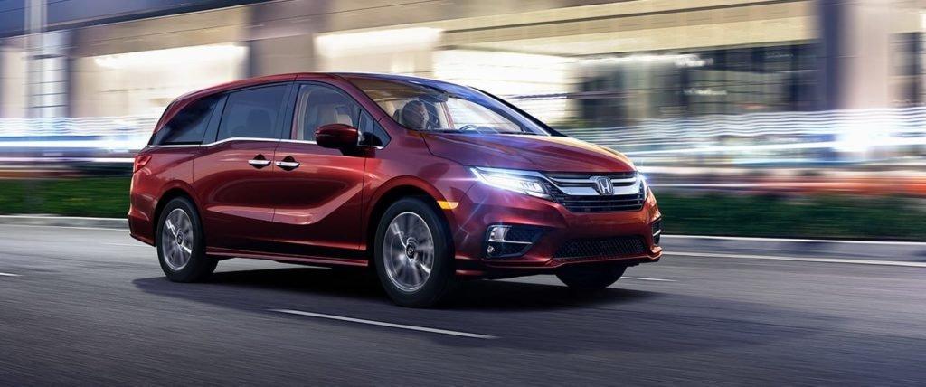 Discover fresh features among 2018 honda odyssey technology for Honda dealer frederick md