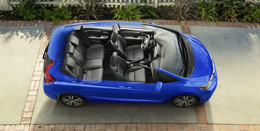 He Spaciously Versatile Interior Of The 2018 Honda Fit