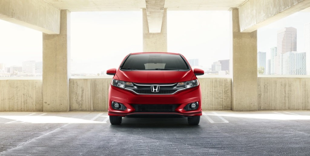 2018 Honda Fit Exterior Front Grille