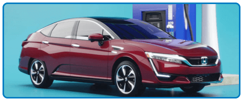 2017 Honda Clarity Fuel Cell Refueling