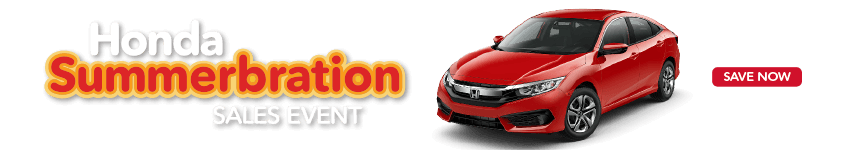 Detroit Area Honda Summerbration Sales Event