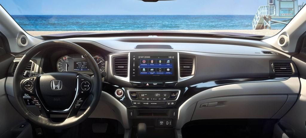 2018 Honda Ridgeline Interior Driver POV