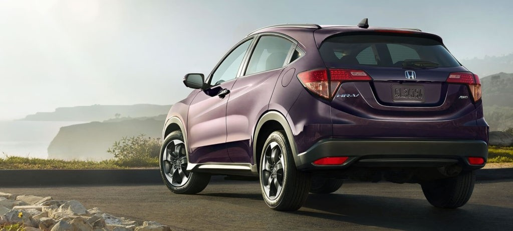 2018 Honda HR-V Exterior Rear Angle Driver Side