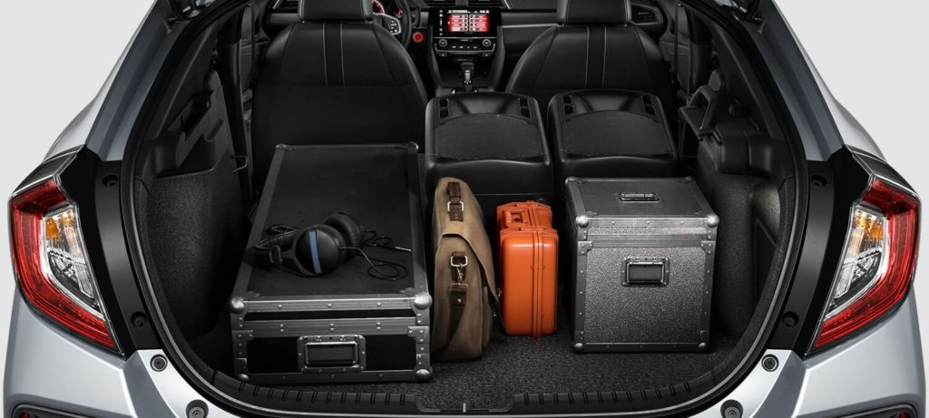 2018 Honda Civic Hatchback Interior Cargo Area