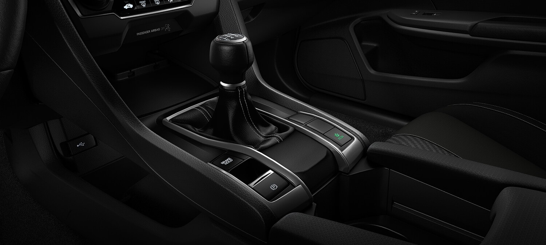 2018 Honda Civic Hatchback 6-Speed Manual Transmission