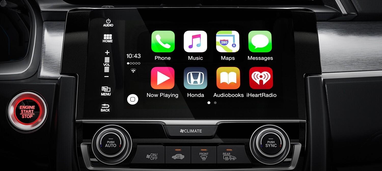 2018 Honda Civic Hatchback Apple CarPlay