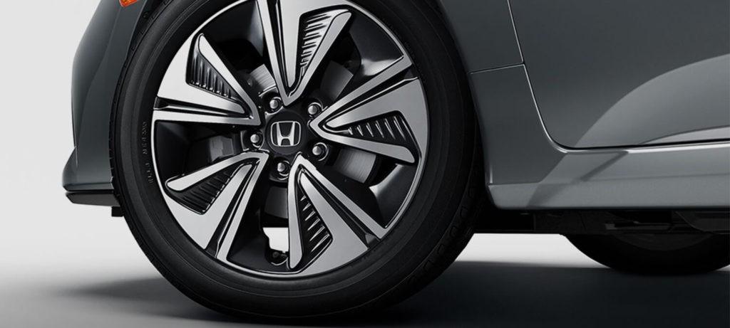 2018 Honda Civic Hatchback Exterior Wheel Closeup