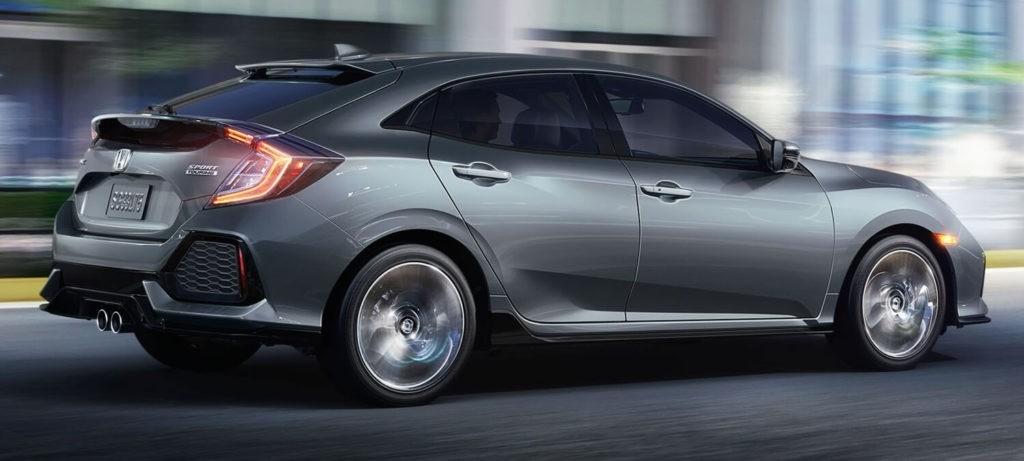 2018 Honda Civic Hatchback Exterior Side Profile