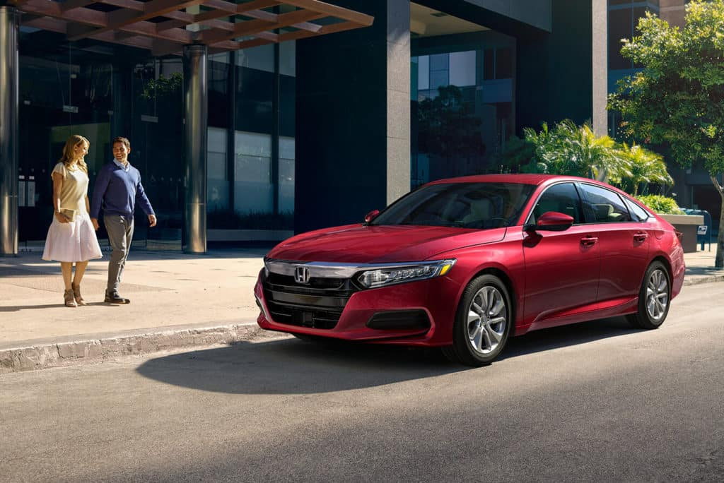 2018 Honda Accord Sedan Exterior Front Angle Driver Side