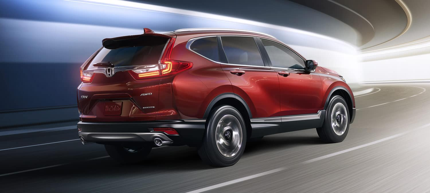 2018 Honda CR-V Exterior Rear Angle Passenger Side