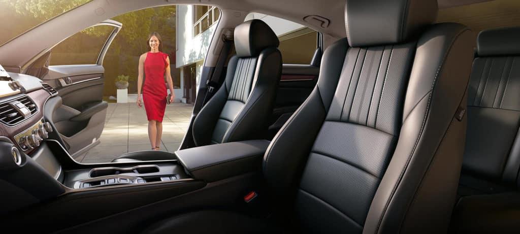 2018 Honda Accord Sedan Interior Driver Side