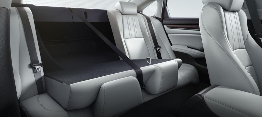 2018 Honda Accord Sedan Interior 60/40 Rear Seats
