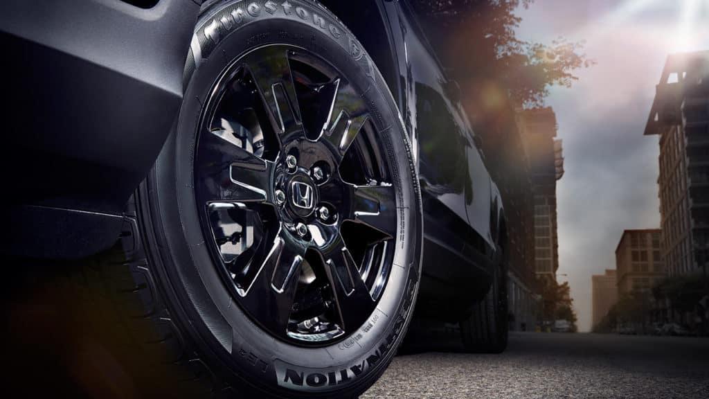 2018 Honda Ridgeline tires