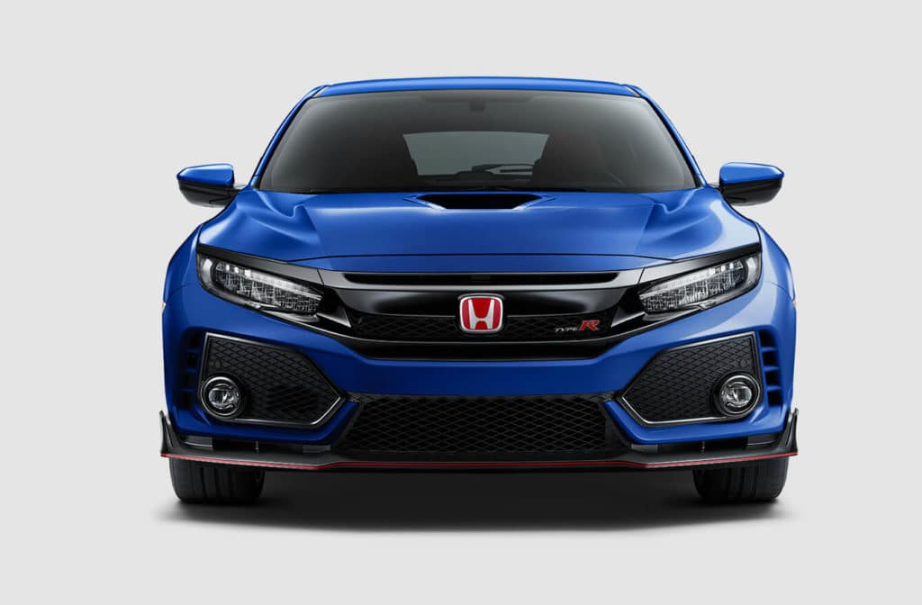 2018 Honda Civic Type R Exterior Front Grille