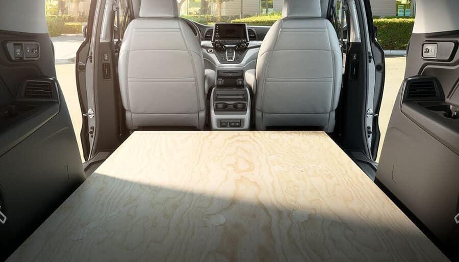2018 Honda Odyssey rear cargo space