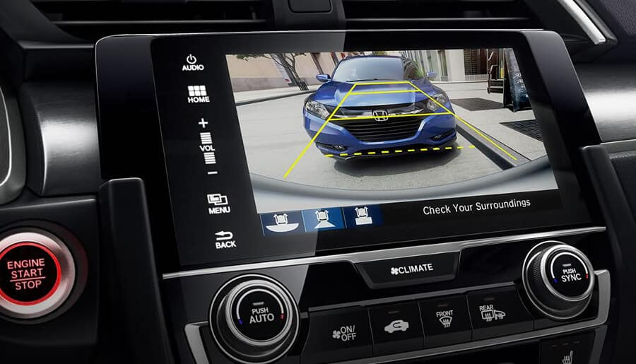 2018 Honda Civic Hatchback multiview camera
