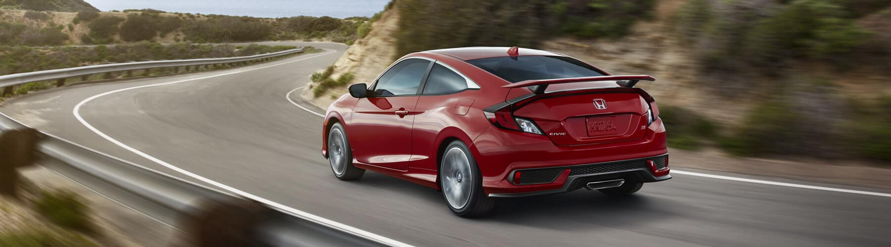 2018 Honda Civic Si Coupe Banner