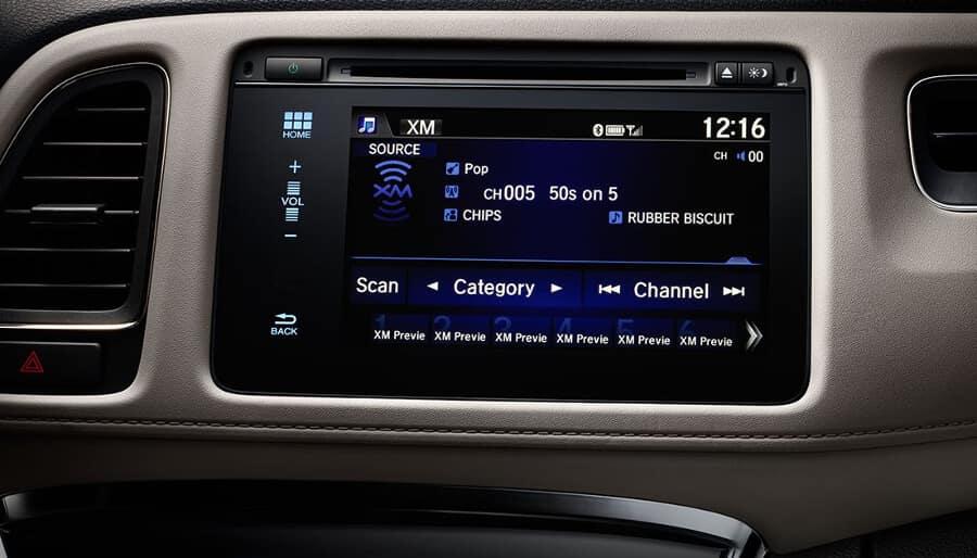 2018 Honda HR-V Display