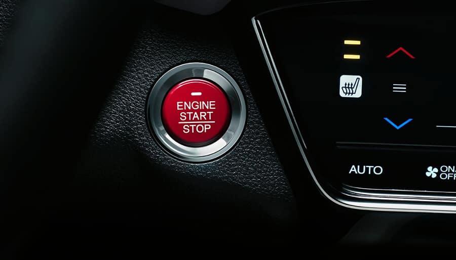 2018 Honda HR-V push start
