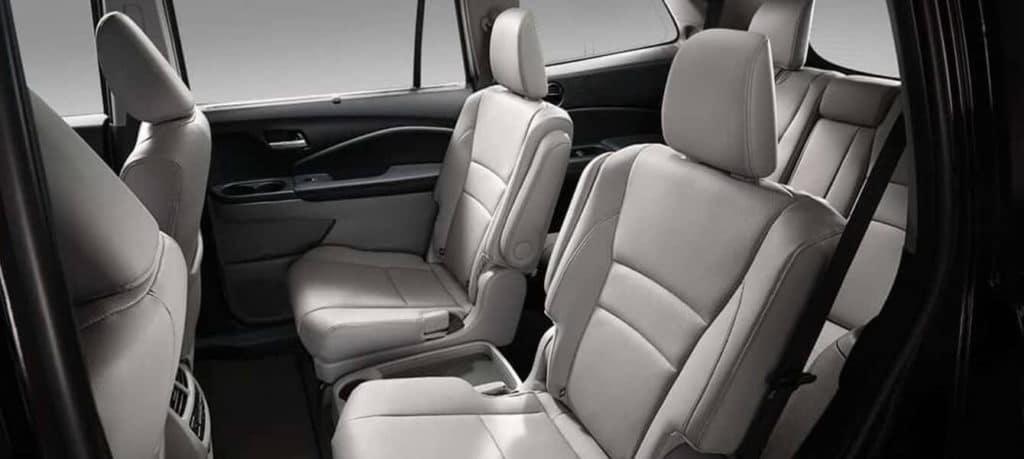 2018 Honda Pilot Interior Three Row Seating