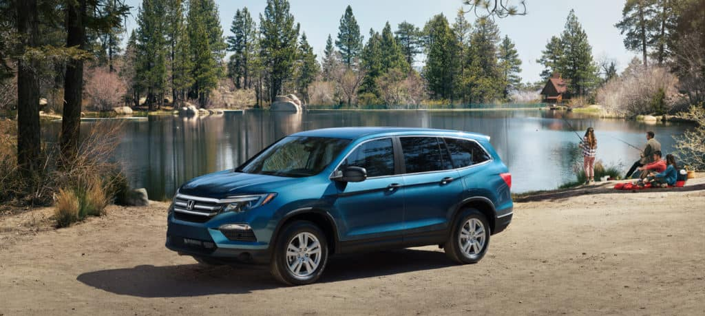2018 Honda Pilot Exterior Front Angle Driver Side