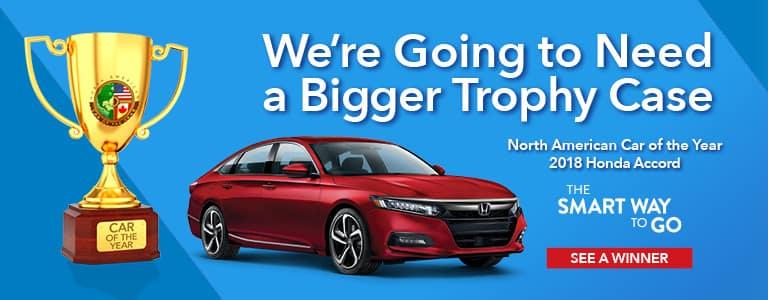 2018 Honda Accord North American Car of the Year