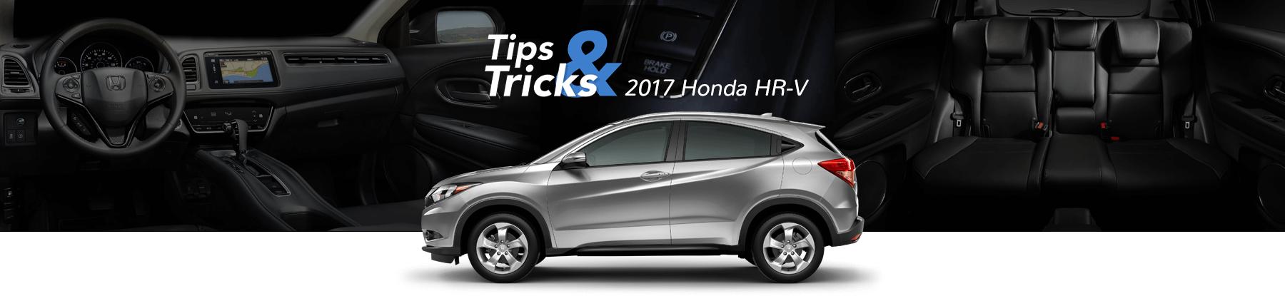 2017 Honda HR-V Tips & Tricks Banner