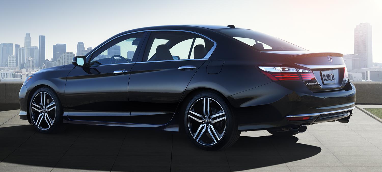 2017 Honda Accord Sedan Exterior City