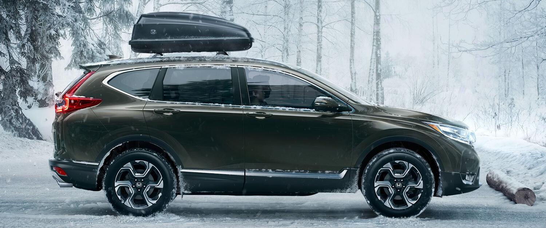 2017 Honda CR-V Exterior Side Profile Winter